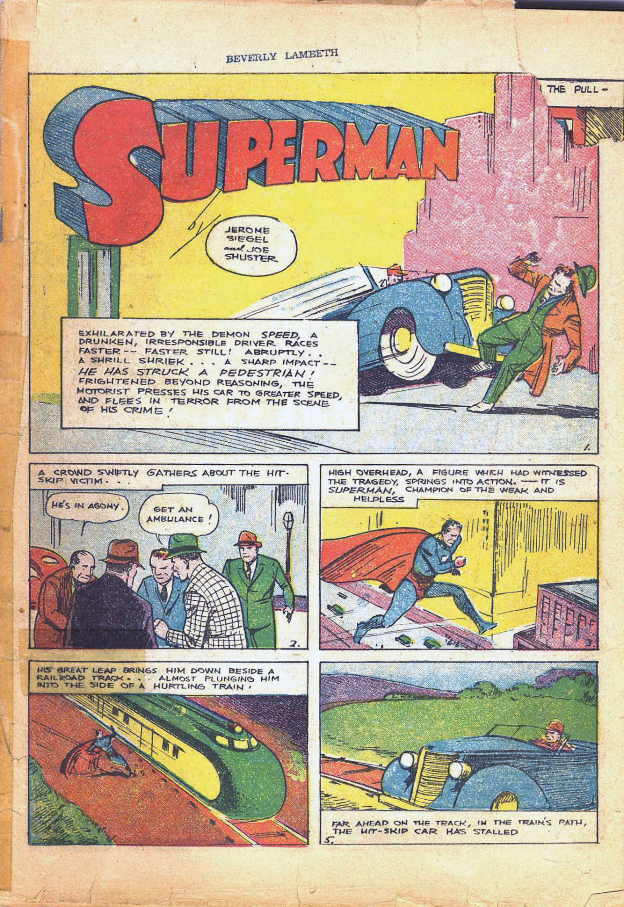 Read online Action Comics (1938) comic -  Issue #4 - 4