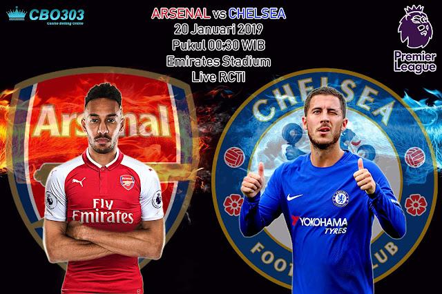 PREDIKSI BOLA: Arsenal vs Chelsea