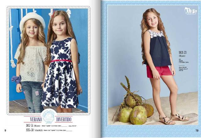ropa moda niños