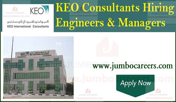 KEO Consultants jobs in UAE, latest job openings in UAE,