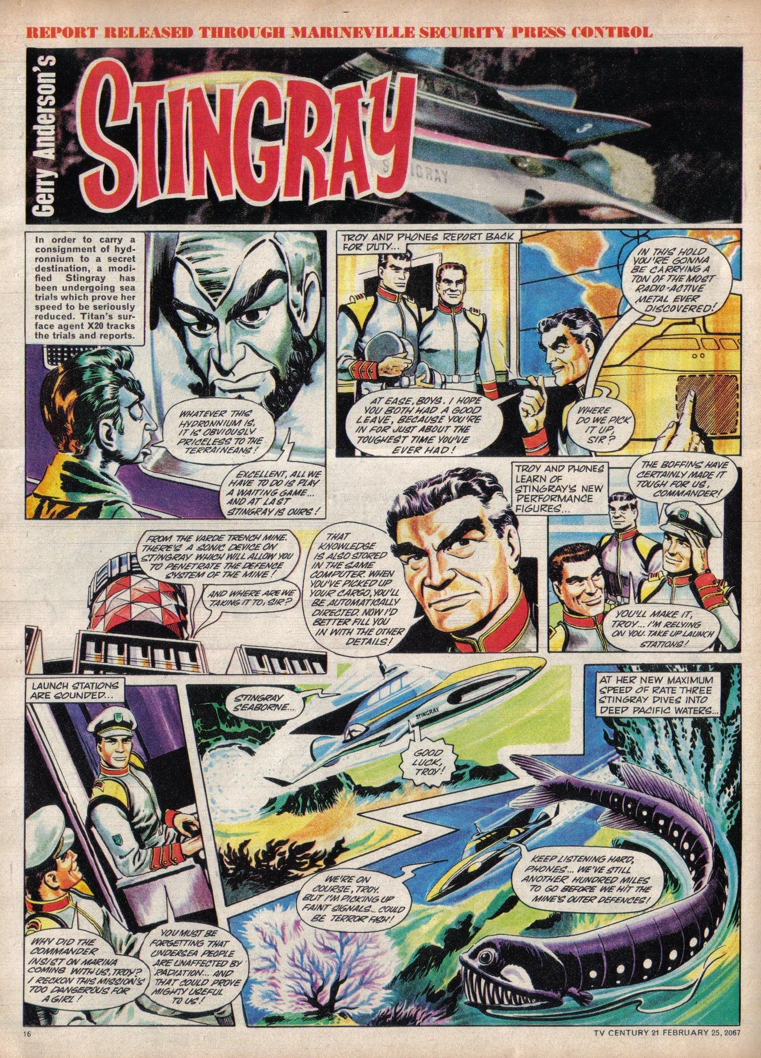 Read online TV Century 21 (TV 21) comic -  Issue #110 - 15