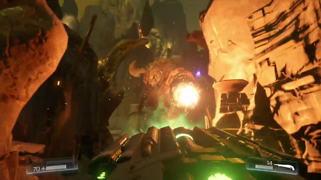 DOOM Hell Duke boss Cyberdemon Bethesda E3 2015