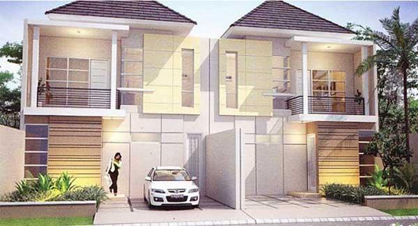desain perumahan minimalis 2 lantai sederhana