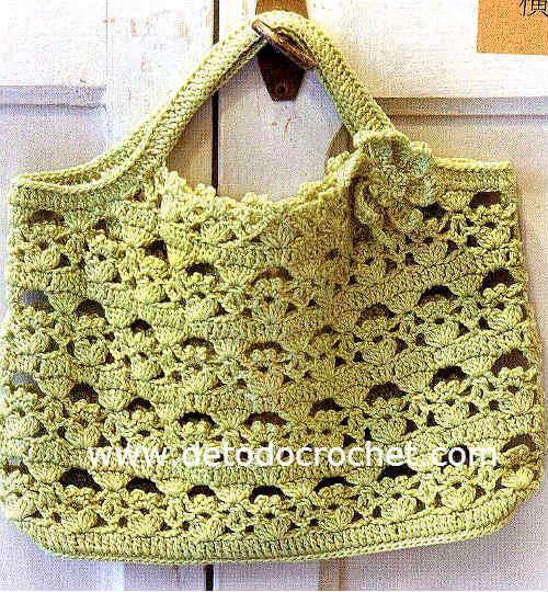 patrones de bolso crochet