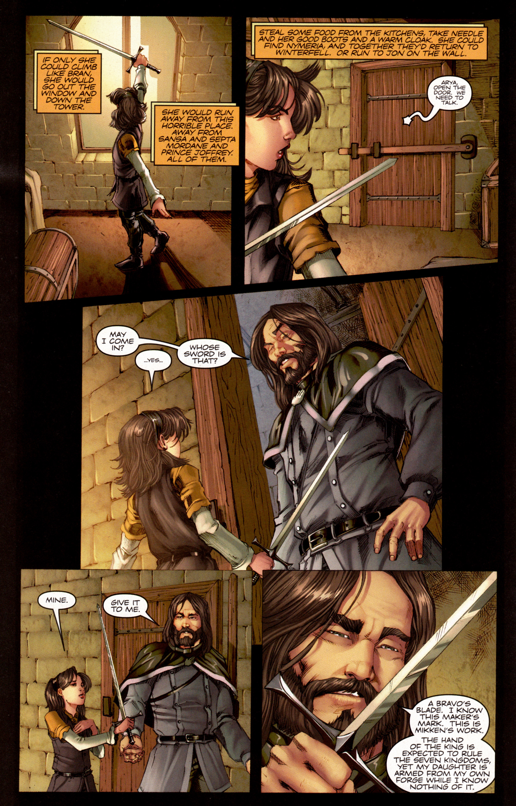 Read online A Game Of Thrones comic -  Issue #7 - 15