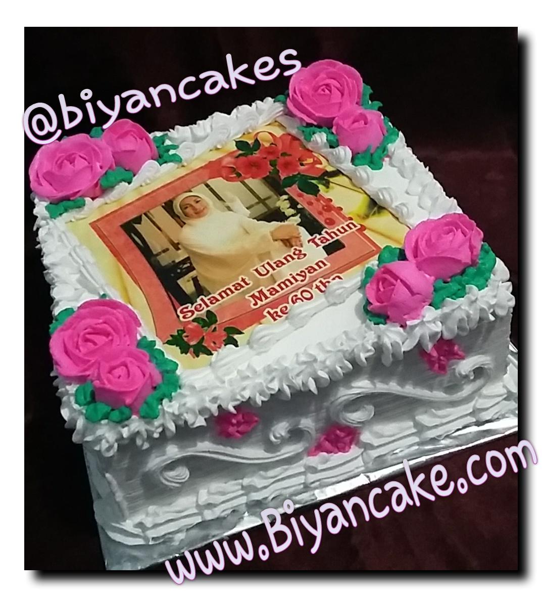 Edible Fhoto Biyan Cake