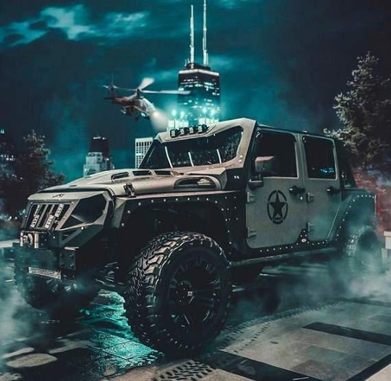 Jeep Rubicon Atta Halilintar