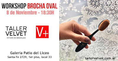Workshop Cepillo Oval en Taller Velvet