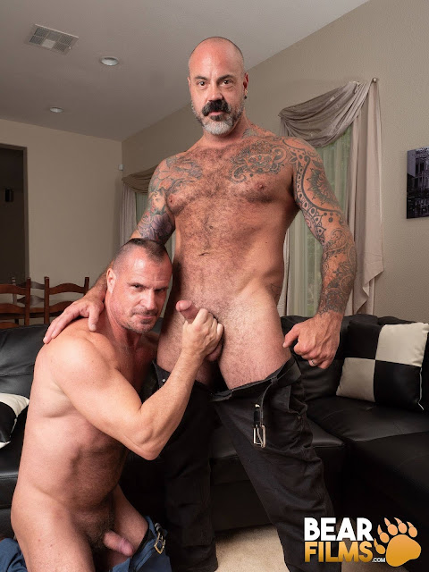 Bear Films - Scotty Rage and Christian Mitchell - Married and A Bear