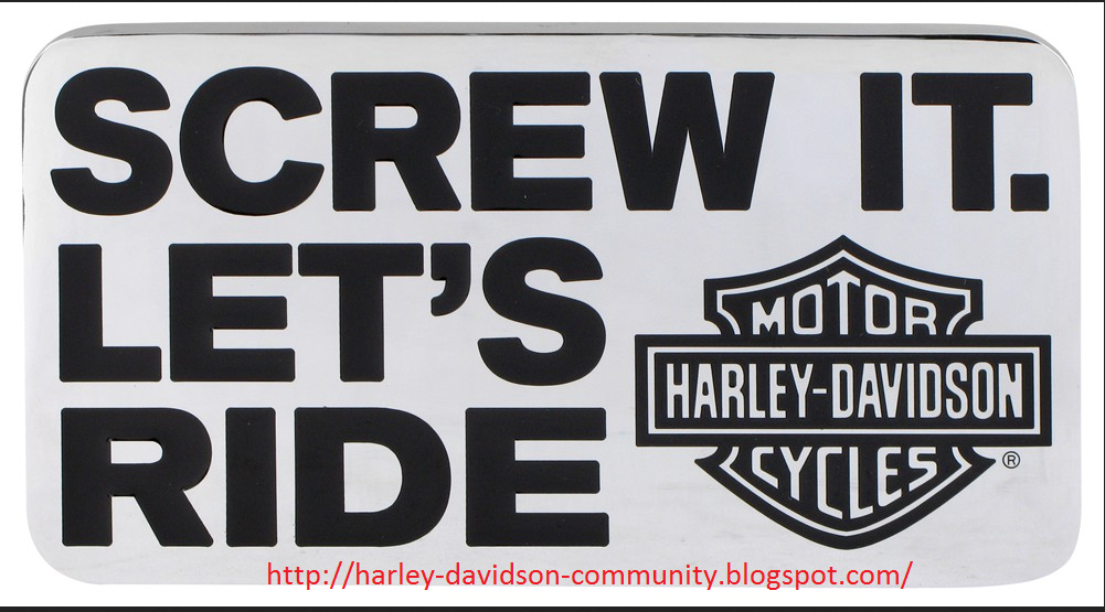 the new slogan harley davidson community of usa and canada