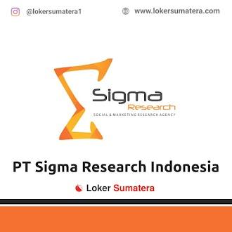 Lowongan Kerja, PT Sigma Research Indonesia Juni 2021