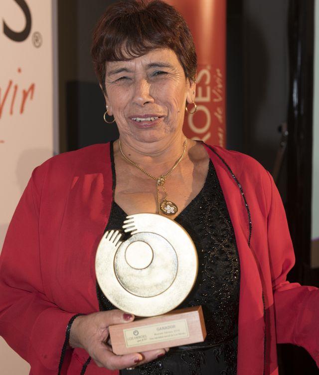 Guillermina Cataldo. ganadora 2018
