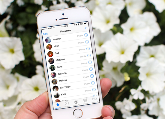5 Slow Ways To Dorsum Upward Contacts From Iphone Without Itunes