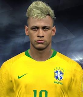 PES 2017 Faces Neymar Jr by Facemaker Huseyn