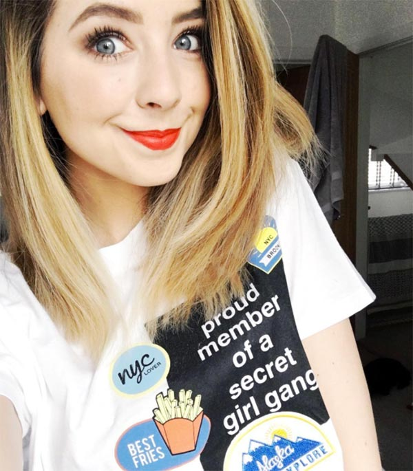 2017 Forbes Top Beauty Influencers - Zoe 'Zoella' Sugg