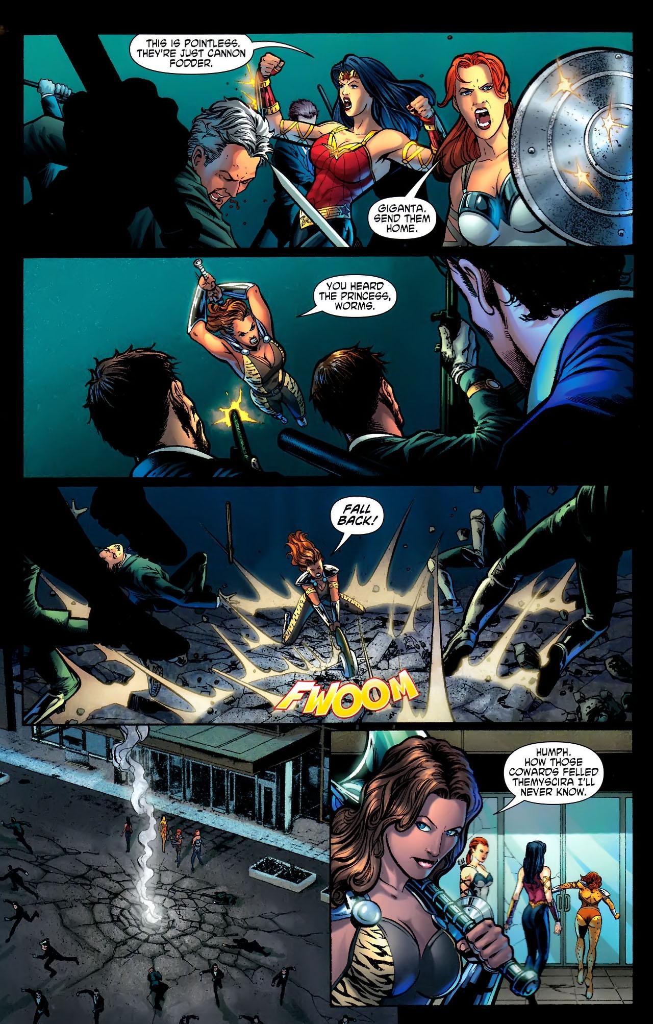 Read online Wonder Woman (2006) comic -  Issue #611 - 6