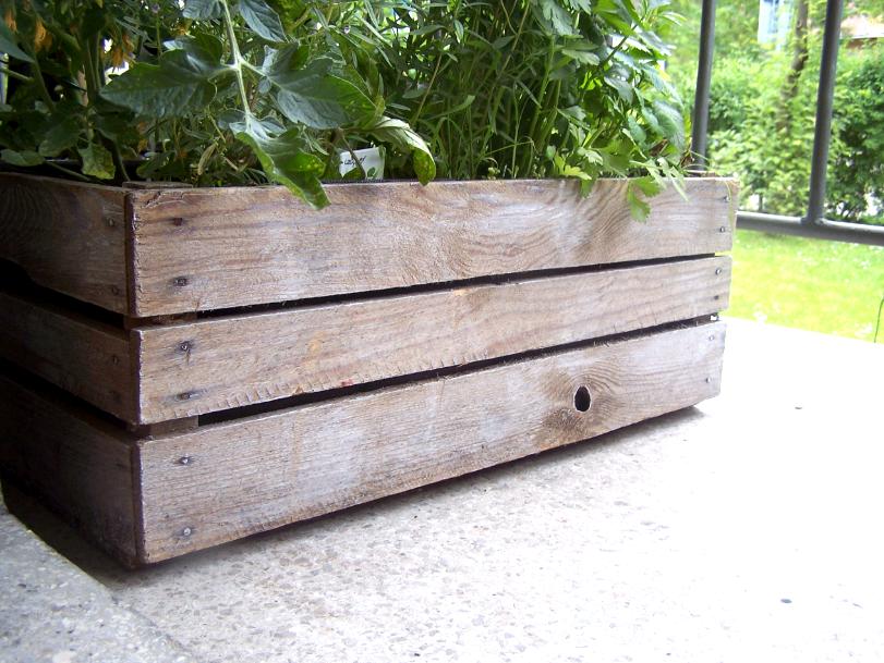 My Home Diy Mini Ogród Na Balkonie Czyli Drewniana