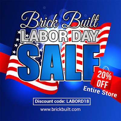 SALE STARTS NOW!! www.Brickbuilt.com