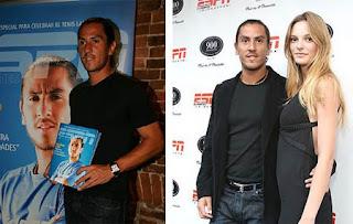 Guillermo holding his girlfriend Fabiana