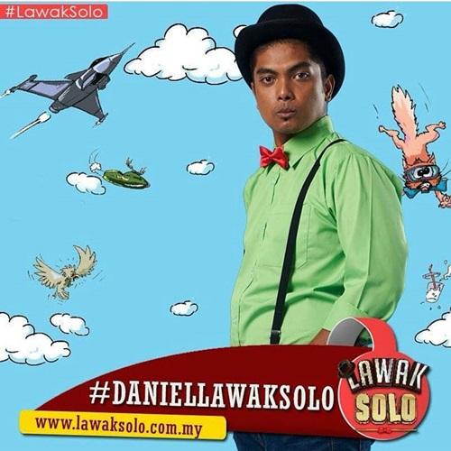 biodata Danial peserta lawak solo 2016 astro, biodata lawak solo Danial, profile Danial lawak solo 2016, biografi Danial, profil dan latar belakang Danial lawak solo 2016, gambar Danial lawak solo