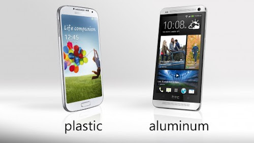 Samsung S4 vs HTC One - Design and Build Comparison