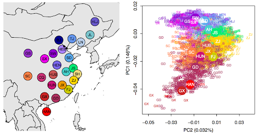 Genetic variation in Han Chinese population