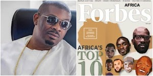 Don Jazzy reacts after he was listed on Forbes Africa's richest musicians
