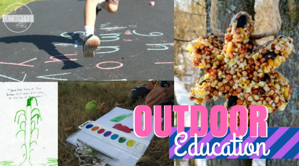 outdoor education ideas for homeschool