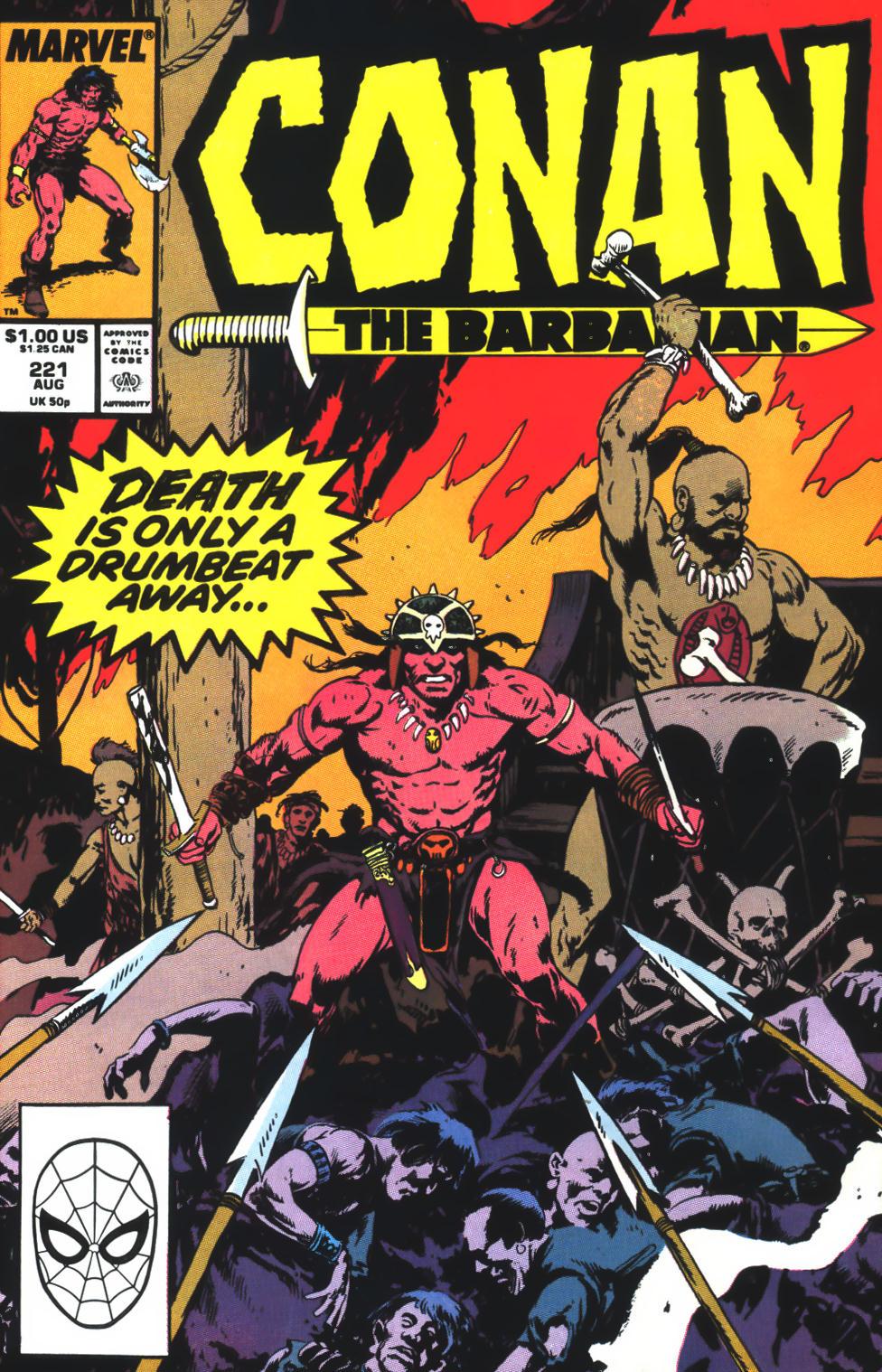 Conan the Barbarian (1970) 221 Page 1