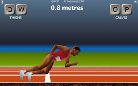 QWOP the sprint games available for download for Android devices for $0.99 (Rs.56.00)