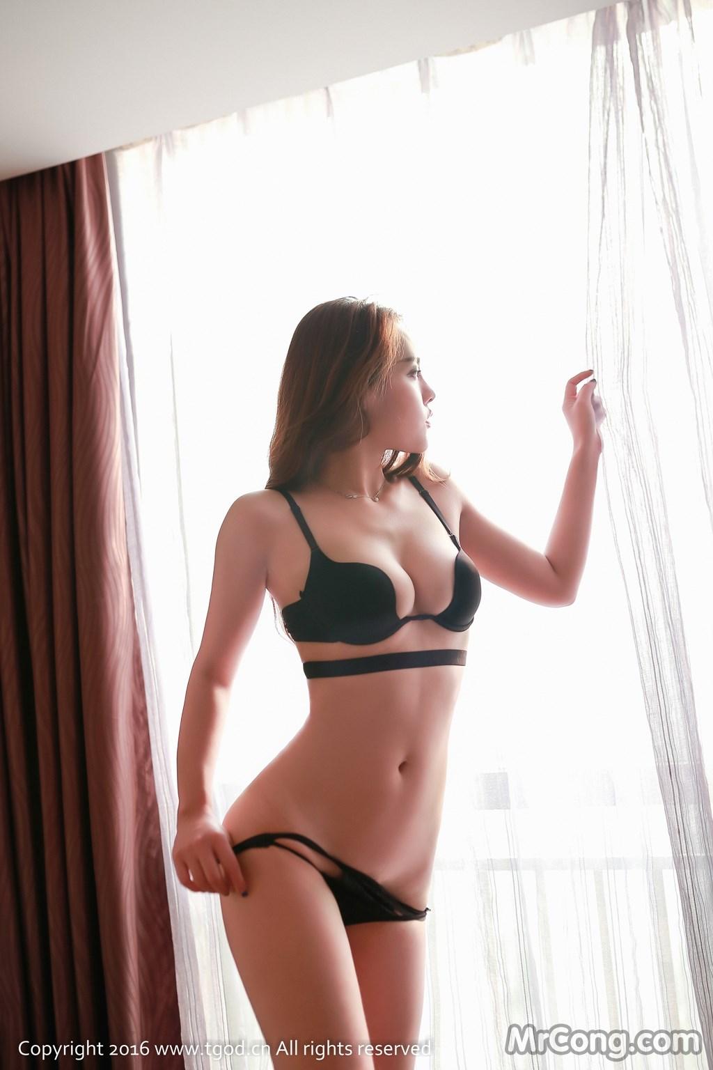 Image MrCong.com-TGOD-2016-07-22-Zhan-Ni-Hua-013 in post TGOD 2016-07-22: Người mẫu Zhan Ni Hua (珍妮花) (40 ảnh)
