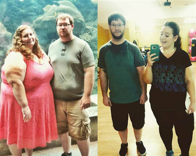 When Lexi Reed first started working out she struggled to walk for 30 minutes straight. After losing 236 pounds she spends an hour at the gym five days a week.