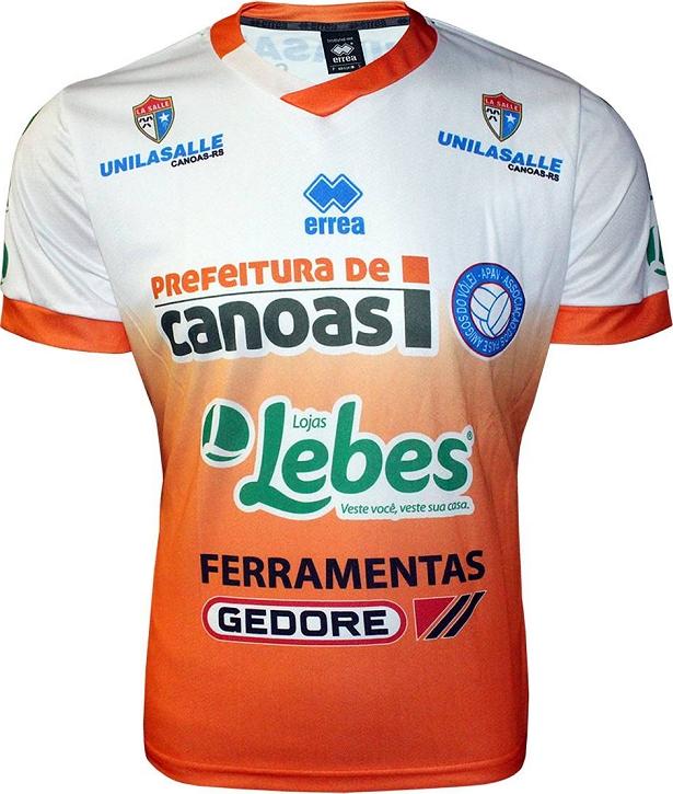 Canoas lança as camisas para a Superliga de Vôlei - Show de Camisas 675f5917ab3ea