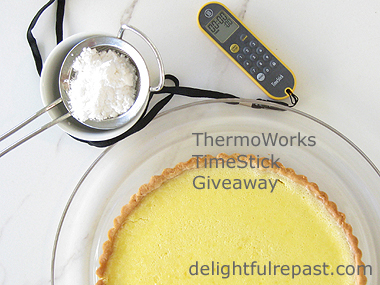 Lemon Tart and TimeStick Giveaway / www.delightfulrepast.com