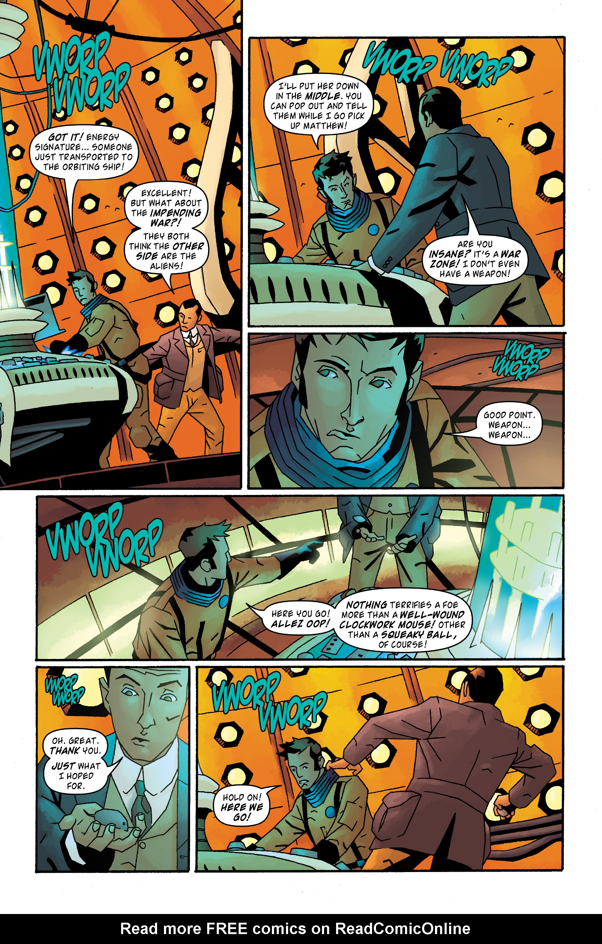 Read online Doctor Who: The Tenth Doctor Archives comic -  Issue #33 - 11
