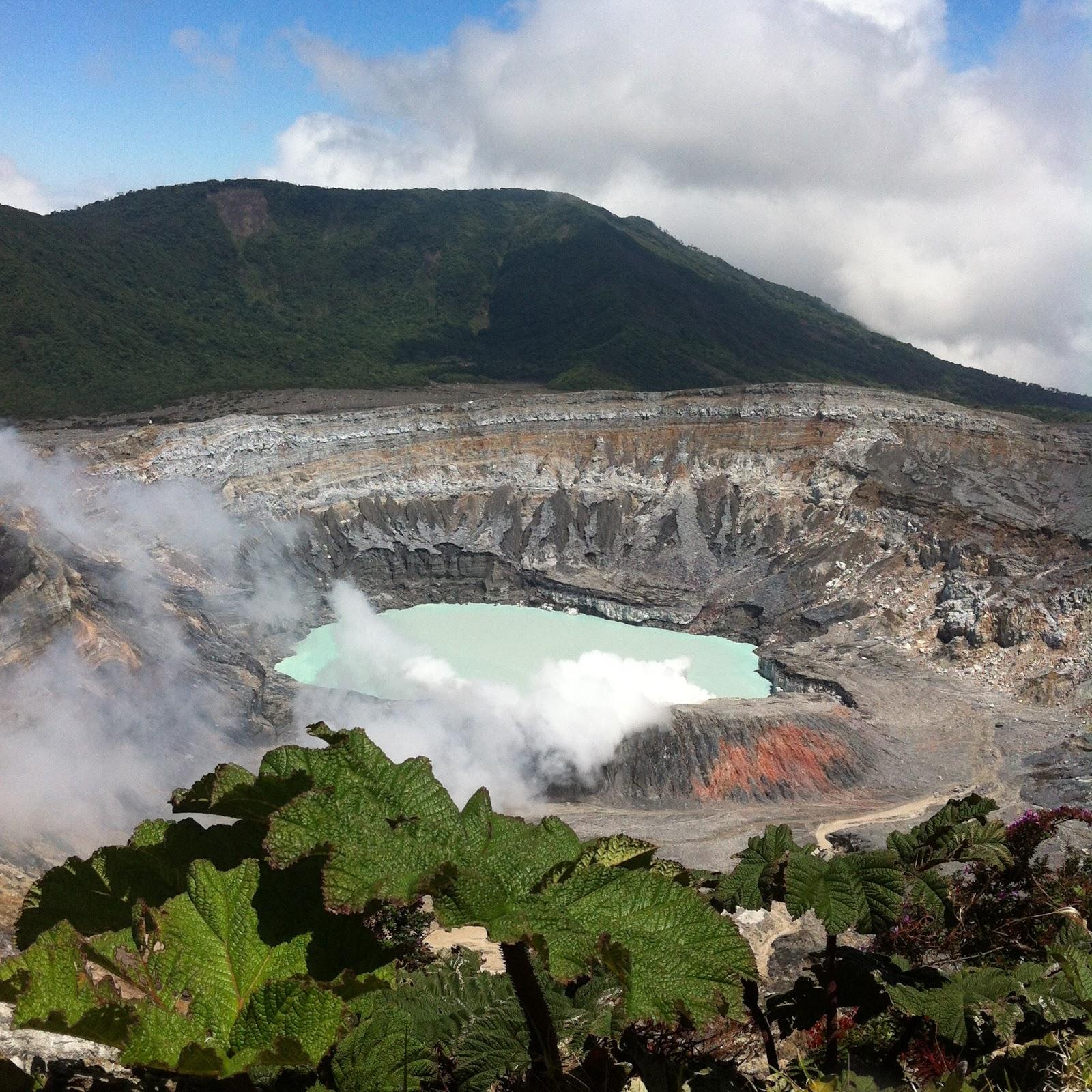 volcano Poás, Costa Rica