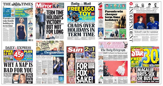 front pages 14-05-16
