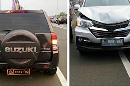 """Mengharukan! Mobil Dinasnya Ditabrak, yang Dilakukan Mantan Kapolda NTB """"Jenderal Umar Septono"""" Diluar Dugaan"""