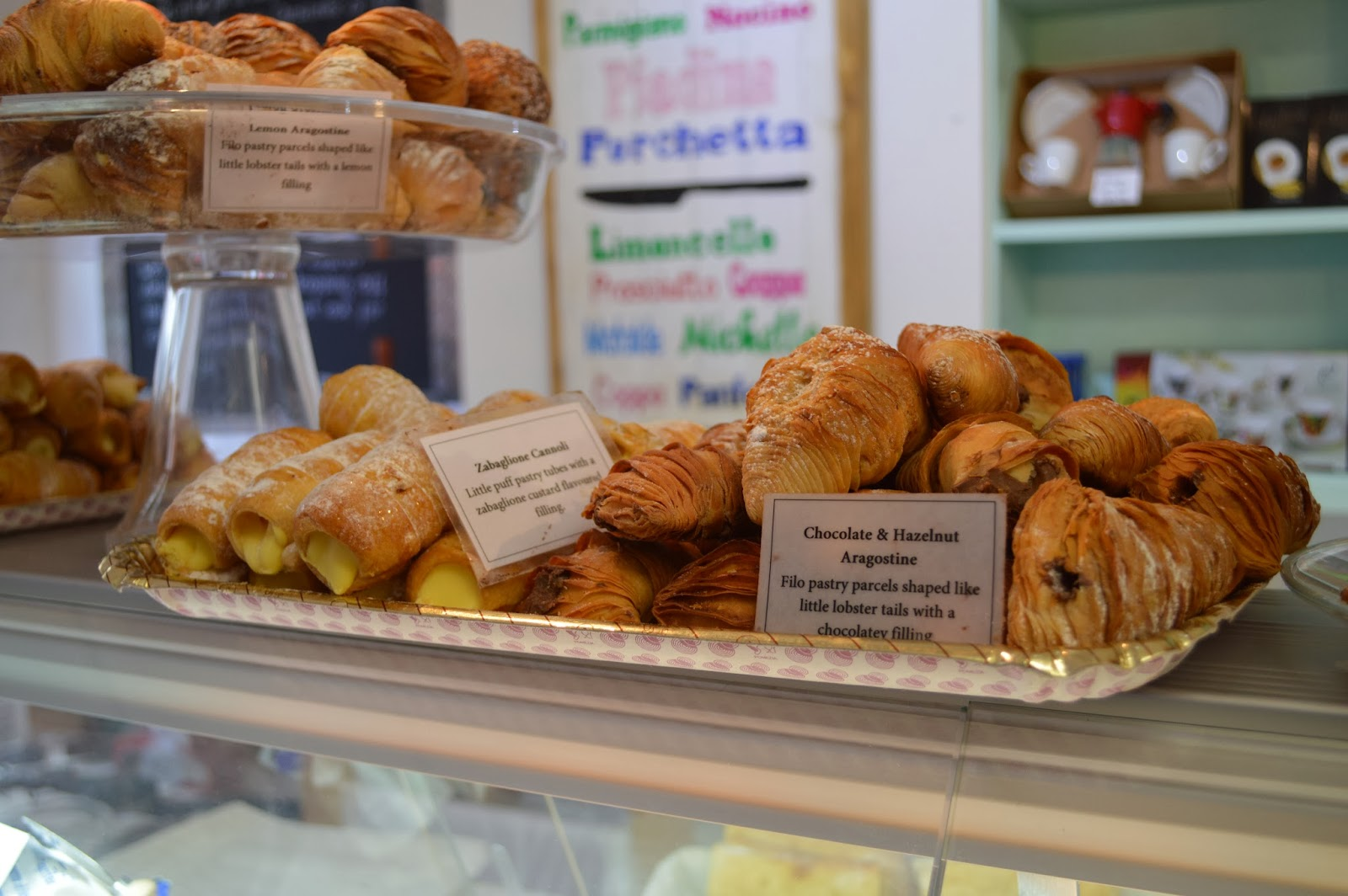 Italian pastries, Just So Italian Deli
