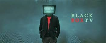 BlackBoxTV banner- Tony with a TV for a head
