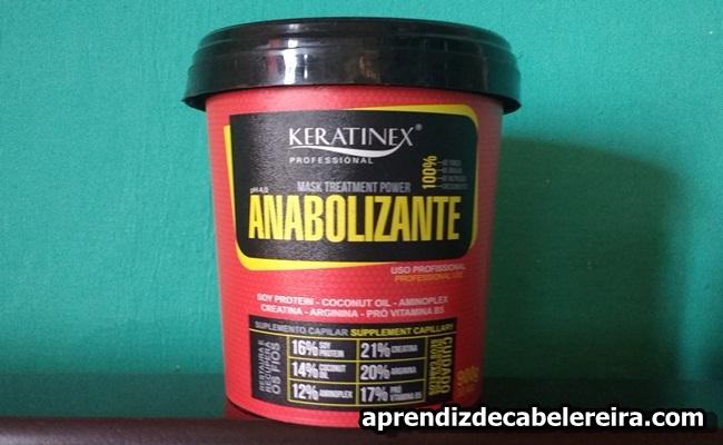 Máscara Anabolizante Capilar Keratinex