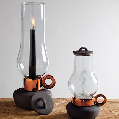 Lanterna and Bugia Candle Holders