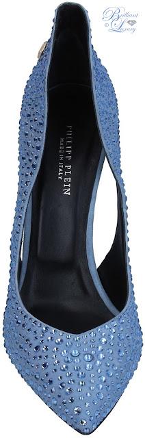 Brilliant Luxury ♦ Philipp Plein glitter pumps
