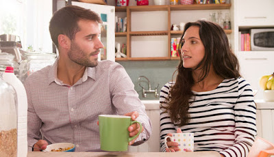 10 Awkward Conversations You Need to Have with Your Partner man woman couple love wife husband