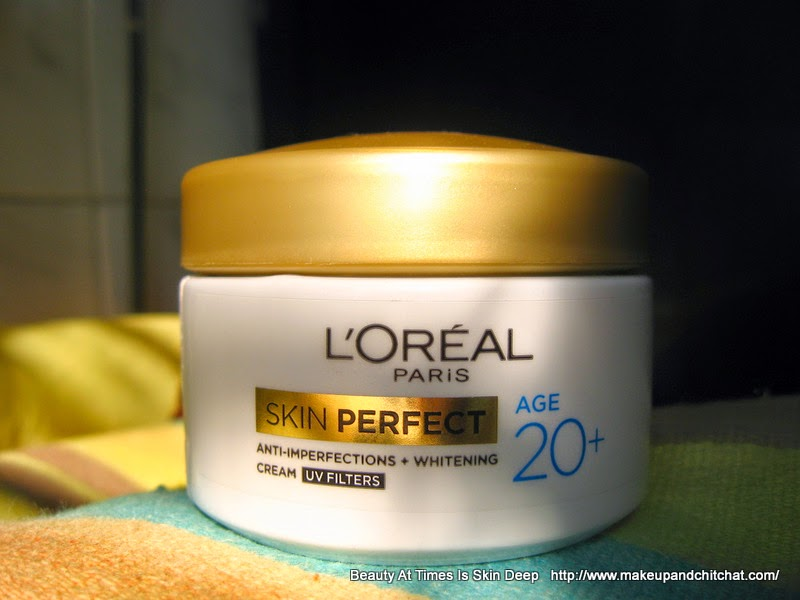 l'oreal skin care age 20| L'Oreal Skin Perfect Cream Review 20+
