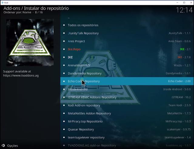 Echo Code Repository