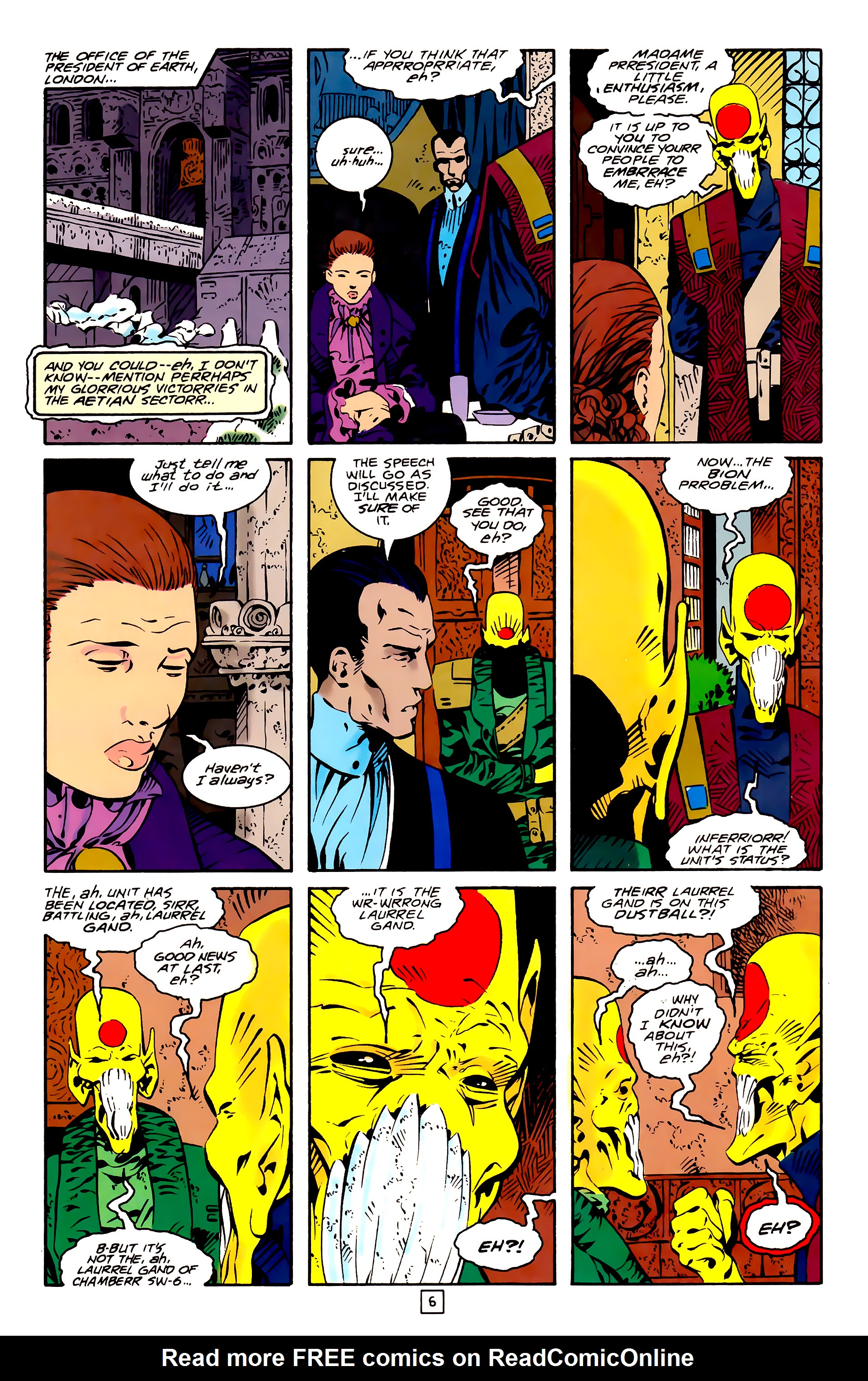 Legion of Super-Heroes (1989) 26 Page 6