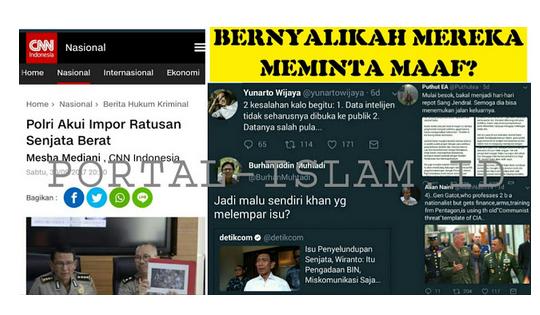 Serukan Kebenaran, Panglima TNI Malah Dibully dan Difitnah, FAKTANYA, Senjata dan Ribuan Amunisi BENAR ADA!