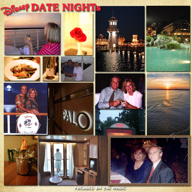 Disney Date Night, Disney Cruise Line,Walt Disney World Resort
