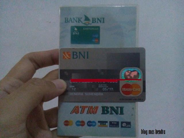 Kartu ATM BNI - Blog Mas Hendra